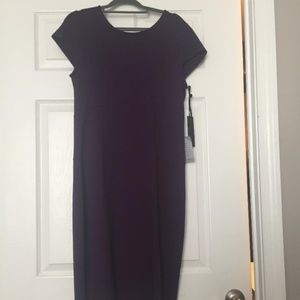 Felicity & CoconDark Purple Body Con Dress